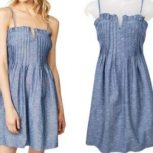 Madewell Denim Pintuck Cami Dress Size 4